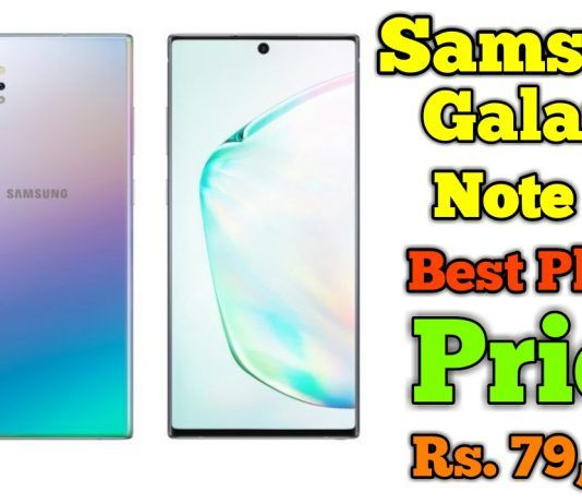 Samsung Galaxy Note 10 Plus Best Price in India
