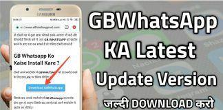 GBWhatsapp APK Download Latest Version 9.12 (Anti-Ban)