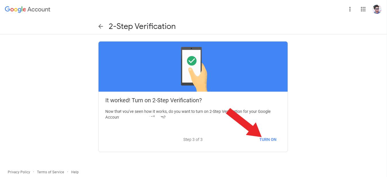 Google Gmail Account Me 2 Step Verification Kaise Enable Kare