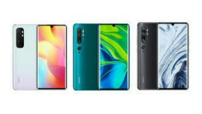 Xiaomi Mi Note 10 Pro Price in India, Specifications