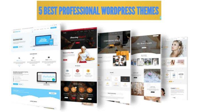 5 Best Professional Responsive Wordpress Themes Free Download 2020
