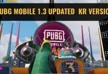 PUBG Mobile 1.3 update Kr version: Download Link