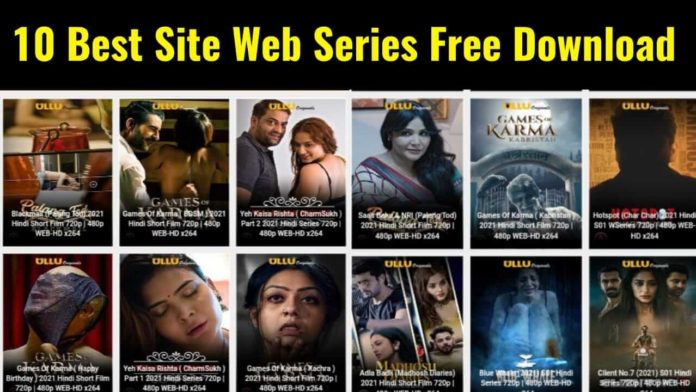 10 Best Sites to New Web Series for free Download